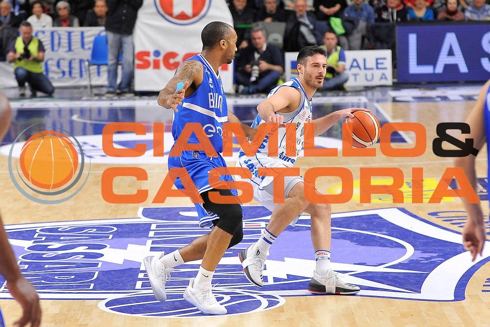 Lorenzo D'Ercole<br /> Banco di Sardegna Dinamo Sassari - Enel New Basket Brindisi<br /> LegaBasket Serie A LBA Poste Mobile 2016/2017<br /> Sassari 02/04/2017<br /> Foto Ciamillo-Castoria