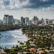 Downtown Fort Lauderdale and south fl locations Drone photography