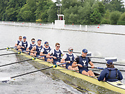 Henley Royal Regatta, Henley on Thames, Oxfordshire, 28 June - 2 July 2017.  Saturday  10:52:28   01/07/2017  [Mandatory Credit/Intersport Images]<br /> Rowing, Henley Reach, Henley Royal Regatta.<br /> The Temple Challenge Cup<br /> Yale University, U.S.A. v  University of London 'A'