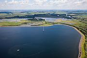 Nederland, Brabant, Gemeente Made, 12-06-2009; Spaarbekken De Gijster (Nationaal Park De Biesbosch) wordt gebruikt voor opslag van rivierwater ten behoeve van de drinkwaterproductie..In spaarbekkens wordt water van goede kwaliteit op voorraad gehouden en kunnen verontreinigingen bezinken..luchtfoto (toeslag), aerial photo (additional fee required).foto Siebe Swart / photo Siebe Swart