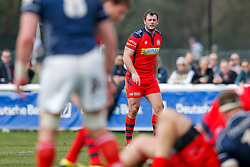 Bristol Rugby Full Back Luke Arscott looks on - Mandatory byline: Rogan Thomson/JMP - 02/04/2016 - RUGBY UNION - Richmond Athletic Ground - London, England - London Scottish v Bristol Rugby - Greene King IPA Championship.