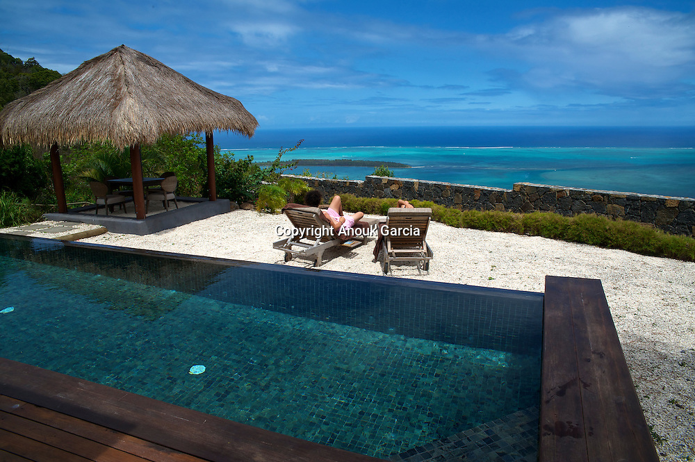 New suite of the lodge Lakaz Chamarel with oversea view | Les nouvelles suites du lodge Lakaz Chamarel avec vue sur mer