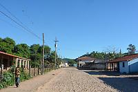 Street in Gutierrez, Santa Cruz, Bolivia