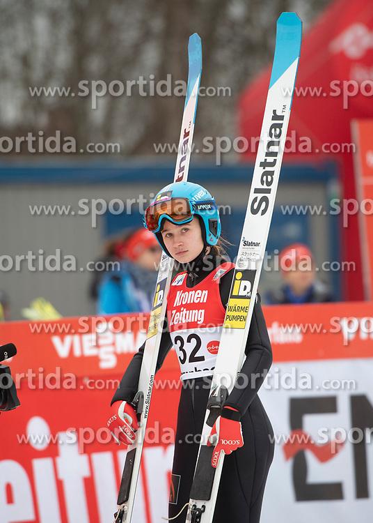 02.02.2019, Energie AG Skisprung Arena, Hinzenbach, AUT, FIS Weltcup Ski Sprung, Damen, Wertungsdurchgang, im Bild Lidiia Iakovleva (RUS) // Lidiia Iakovleva (RUS) during the woman's Competition Jump of FIS Ski Jumping World Cup at the Energie AG Skisprung Arena in Hinzenbach, Austria on 2019/02/02. EXPA Pictures © 2019, PhotoCredit: EXPA/ Reinhard Eisenbauer
