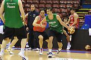MILANO 12 MARZO 2011<br /> BASKET ALL STAR GAME<br /> ALLENAMENTO NAZIONALE ITALIANA<br /> NELLA FOTO MORASCHINI<br /> FOTO CIAMILLO CASTORIA