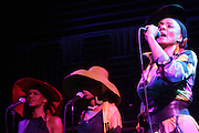 "Zap Mama( Marie Daulne) plays to packed audience with the release of new album "" ReCreation "" at Joe's Pub in New York City on May 27, 2009"