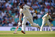 Jonny Bairstow of England running between the wickets during the 5th International Test Match 2019 match between England and Australia at the Oval, London, United Kingdom on 12 September 2019.