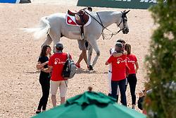 Guerdat Steve, Andy Kistler, Guerdat Philippe<br /> World Equestrian Games - Tryon 2018<br /> © Hippo Foto - Dirk Caremans<br /> 23/09/2018