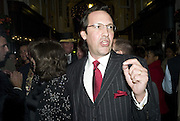 PERCY GIBSON,  Joan Collins Turns On Burlington Arcade Christmas Lights, PICCADILLY, LONDON - NOVEMBER 20 2007. -DO NOT ARCHIVE-© Copyright Photograph by Dafydd Jones. 248 Clapham Rd. London SW9 0PZ. Tel 0207 820 0771. www.dafjones.com.