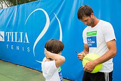 Gregor Repina at Kids day during Day 4 of ATP Challenger Tilia Slovenia Open 2014 on July 10, 2014 in Tennis stadium SRC Marina, Portoroz / Portorose, Slovenia. Photo by Vid Ponikvar / Sportida