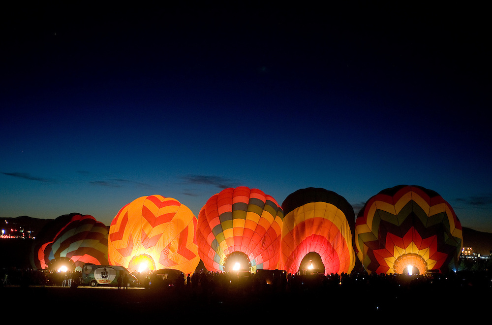 2008 Great Reno Balloon Race sponsored by Wells Fargo at Rancho San Rafael Park in Reno, Nev., Sept. 4-7, 2008..Photo by David Calvert