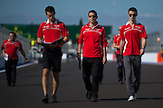 October 10-12 : Russian Grand Prix : Alexander Rossi, Marussia F1 team