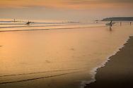 St Ouens Bay at dusk