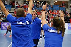 20171021 BEL: Champions League, Asterix Avo Beveren - Sliedrecht Sport: Oostakker<br />Matt van Wezel, headcoach of Sliedrecht Sport <br />&copy;2017-FotoHoogendoorn.nl / Pim Waslander