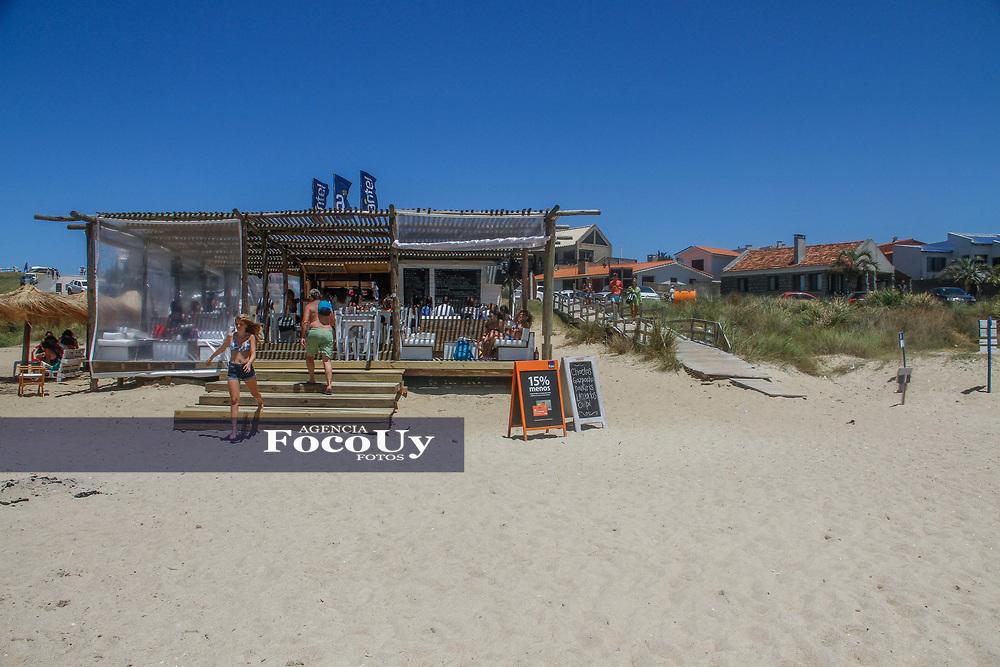 Rocha,  Uruguay. 11 de Enero de 2018.  <br /> Balneario La Pedrera. Playa<br /> Foto: Gast&oacute;n Britos / FocoUy