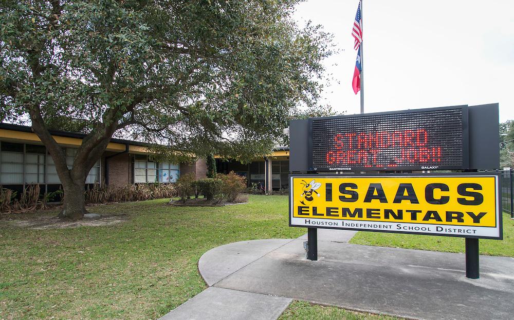 Isaacs Elementary School, February 1, 2017.