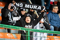 Fan of Mura during football match between NŠ Mura and Rudar Velenje in 31st Round of Prva liga Telekom Slovenije 2018/19, on May 5, 2019 in Fazanerija, Murska Sobota, Slovenia. Photo by Blaž Weindorfer / Sportida