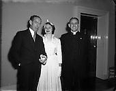 1952 - Wedding of Brian Durin to Ita O'Mahoney