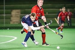 Southgate v St Albans - Men's Hockey League - East Conference, Trent Park, London, UK on 04 February 2017. Photo: Simon Parker