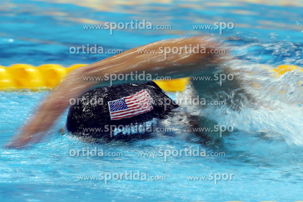 Olympics - London 2012 Olympic Games - .swimming men, 200m Freestyle Relay Final: Michael Phelps (USA).©Êpixathlon *** Local Caption ***