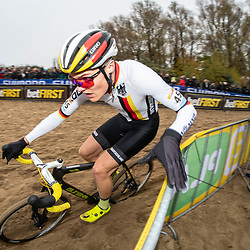 2018-11-24: Cycling: CX Worldcup: Koksijde: Max Möbis in Action