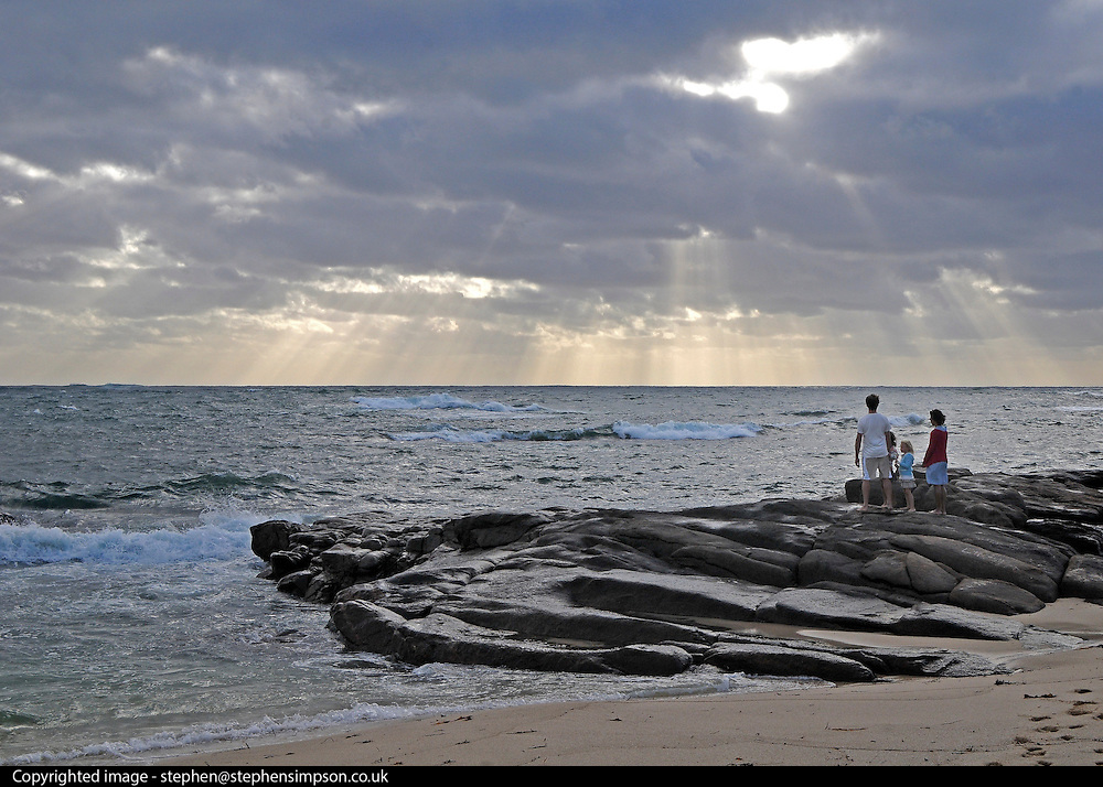 AUSTRALIA - Leeuwin A general view of The Indian Ocean from Leeuwin on the tip of Western Australia. 10/01/2010. STEPHEN SIMPSON...