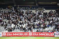 Supporters Ajaccio - 17.12.2014 - Ajaccio / Paris Saint Germain - Coupe de la ligue -<br />Photo : Jean Pierre Belzit / Icon Sport