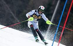GROSS Stefano of Italy during the Audi FIS Alpine Ski World Cup Men's Slalom 58th Vitranc Cup 2019 on March 10, 2019 in Podkoren, Kranjska Gora, Slovenia. Photo by Matic Ritonja / Sportida