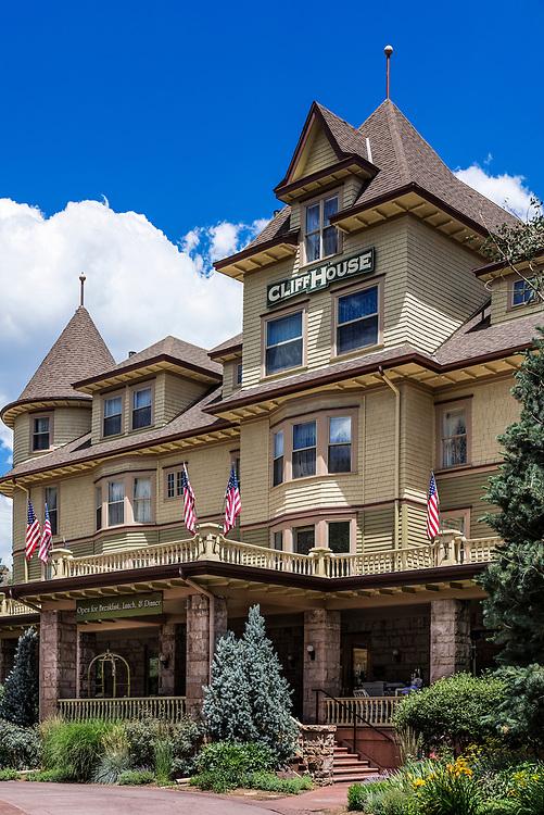 Cliff House boutique hotel,  Manitou Springs, Colorado, USA.