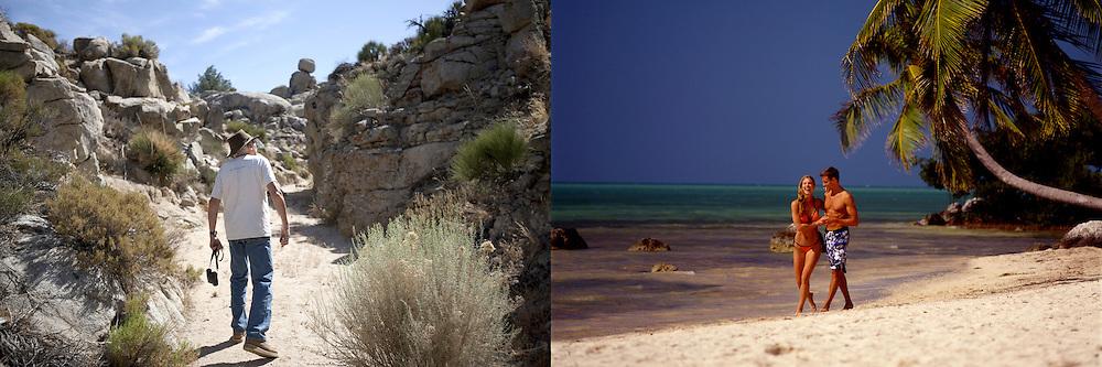 client: Personal, Mojave Desert (left), Anheuser-Busch, Islamorada, FL