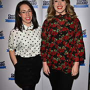Nationwide advert sisters, Flo and Joan attend the Annual awards celebrating the best of British comic talent on 19 March 2018 at Pizza Express Live, Holborn, london, UK.