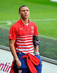 Arsenal's Kieran Gibbs  - Photo mandatory by-line: Joe Meredith/JMP - Mobile: 07966 386802 - 09/11/2014 - SPORT - Football - Swanswa - Liberty Stadium - Swansea City v Arsenal - Barclays Premier League