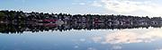 Sunrise view of Lunenburg, Nova Scotia, Canada.
