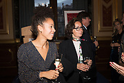 TenTen. The Government Art Collection/Outset Annual Award. Champagne reception to announce the inaugural artist Hurvin Anderson and unveil his 2018 print. Locarno Suite, Foreign and Commonwealth Office. SW1. 2 October 2018