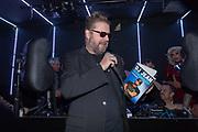 Club Air, Amsterdam. Boekpresentatie van de autobiografie van DJ Jean getiteld Gekkenhuis. Op de foto: Martin Koolhoven