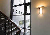 Fagerhult ljós að Sætúni 1, Reykjavík. / Fagerhult lights at Saetun 1, Reykjavik.
