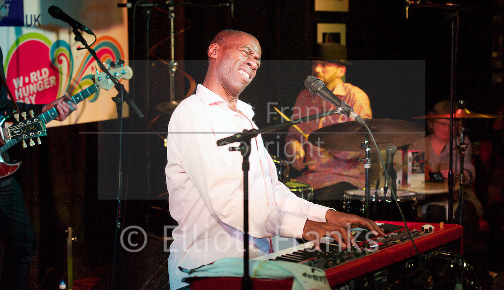 The Hunger Project UK<br /> World Hunger Day Unplugged<br /> at Pizza Express Jazz Club Soho, London, Great Britain <br /> 26th, 27th, 28th &amp; 29th May 2013 <br /> <br /> Jumok&eacute; Fashola, Anthony Strong, Randolph Matthews, Barb Jungr, Tammy Weis, Simon Wallace, Mari Wilson, trio of musicians with Tim Holder, Country Director, The Hunger Project UK<br /> London Community Gospel Choir <br /> Andrew Roachford, Omar, Joe McElderry, Lucinda Belle<br /> <br /> <br /> Please credit all photos used as...<br /> Photograph by Elliott Franks <br /> contact:<br /> <br /> Tim Holder<br /> Country Director<br /> The Hunger Project UK<br /> Empowering People | Ending Hunger<br /> www.thehungerproject.org.uk http://www.thehungerproject.org.uk<br /> 07711 362864<br /> <br /> or<br /> <br /> Miranda Leslau PR <br /> 07912 644993 <br /> miranda@mirandaleslau.com<br /> <br /> 2013 &copy; Elliott Franks