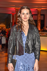 Frankie Herbert at the Mary Quant VIP Preview at The Victoria & Albert Museum, London, England. 03 April 2019. <br /> <br /> ***For fees please contact us prior to publication***