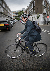 © Licensed to London News Pictures. 15/05/2017. London, UK. Health Secretary Jeremy Hunt leaves home. The NHS has been hit by a massive cyber attack causing hundreds of operations to be cancelled.  Photo credit: Peter Macdiarmid/LNP