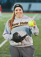 Hatboro-Horsham softball player Jen Cader poses for a photo Friday, March 13, 2015 in Horsham, Pennsylvania. (Photo by William Thomas Cain/Cain Images)