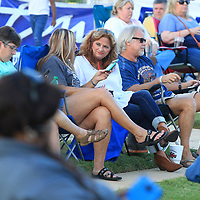 Tupelo residents attend the Down On Main Concert at Fairpark Thursday night where Jeff Crosby and The Refugees and George McConnell performed.