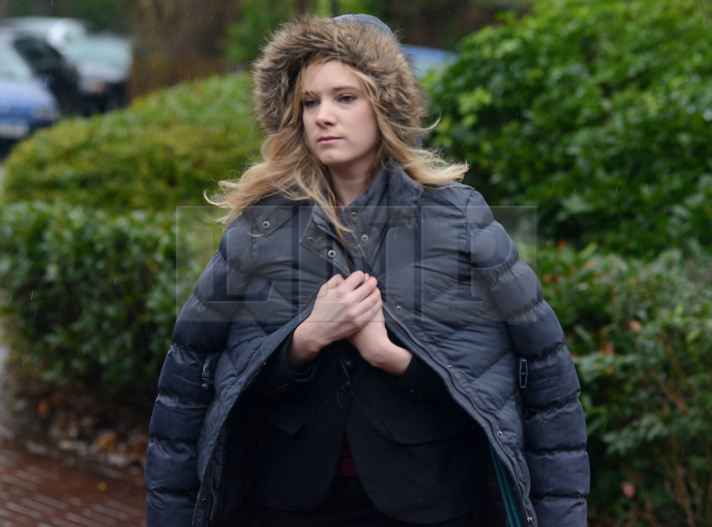 © Licensed to London News Pictures.16/12/2013. London, UK. Sharrine Scholtz, a former accountant with Mr Saatchi's company arrives to give evidence in the trial of the Italian Sisters Elisabetta 'Lisa' and Francesca Grillo, who are the former personal assistants to Charles Saatchi and Nigella Lawson. The pair, who face fraud charges, are accused of misappropriating funds while working for Saatchi and Lawson.Photo credit : Peter Kollanyi/LNP