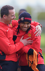 080428 Man Utd training