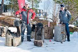 Behind the scenes, NOR, Long Distance Cross Country, 2015 IPC Nordic and Biathlon World Cup Finals, Surnadal, Norway