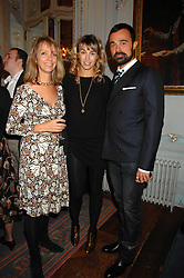 Left to right, SABRINA GUINNESS, ASSIA WEBSTER and EVGENY LEBEDEV at a party to celebrate the publication of 101 World Heroes by Simon Sebag-Montefiore at The Savile Club, 69 Brook Street, London W1 on 9th October 2007.<br /><br />NON EXCLUSIVE - WORLD RIGHTS