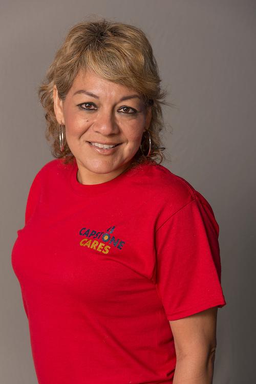 Olga Vento as photographed for the Texas Apartment Association