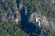 Ruins of the Burg Schrofenstein, Landeck, Tirol, Austria