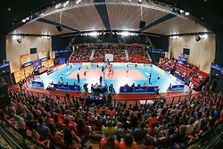 20170617 NED: FIVB Volleybal World League 2017 The Netherlands - Slovakia: Den Haag <br />Overview, Topsporthal Zuiderparkcampus Den Haag<br />&copy;2017-FotoHoogendoorn.nl / Pim Waslander