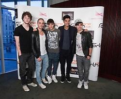 The Wanted at the Radio Forth Awards 2011with St James Shopping Centre, at the Usher Hall, Lothian Road, Edinburgh. .