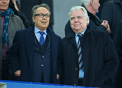 LIVERPOOL, ENGLAND - Saturday, March 12, 2016: Everton's new owner Farhad Moshiri and chairman Bill Kenwright before the FA Cup Quarter-Final match against Chelsea at Goodison Park. (Pic by David Rawcliffe/Propaganda)